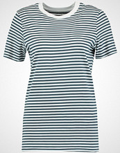 Selected Femme SFMY PERFECT STRIPE Tshirts med print orion blue/bright white