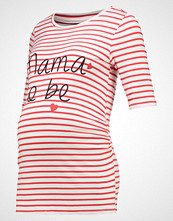 DP Maternity Tshirts med print red