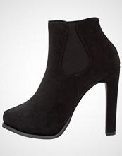 New Look BLONDE Ankelboots med høye hæler black