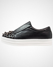 Lost Ink NINA ON PLIMSOLL Slippers black