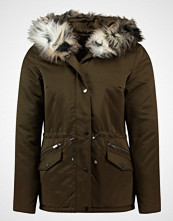 Dorothy Perkins ANIMAL LUXE Parka dark green