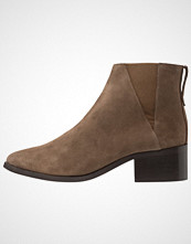 Pieces PSDRINA SUEDE BOOT Ankelboots taupe gray