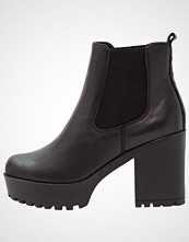 Even&Odd Ankelboots med høye hæler black