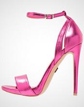Lost Ink RAULA Sandaler med høye hæler bright pink