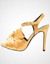 New Look Wide Fit WIDE FIT TWISTY Sandaler med høye hæler dark yellow