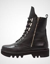 Bronx Cowboystøvletter black/silver
