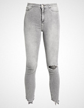 New Look VANESSA RIPPED DISCO Jeans Skinny Fit charcoal