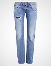 Replay NEWSWENFANI Straight leg jeans destroyed denim/blue denim