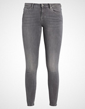 Only CARMEN CROP ANKLE ZIP JEANS Jeans Skinny Fit medium grey denim