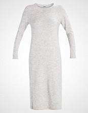 Noisy May NMMILES  Strikket kjole light grey melange