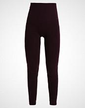 Casall BRUSHED Tights plum perfect