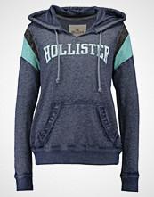 Hollister Co. SPORTY LOGO Hoodie blue