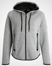 Superdry TECH LUXE Treningsjakke grey grit/black
