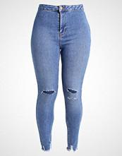 New Look HALLIE Slim fit jeans mid blue