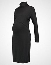 Boob JACKIE POLO NECK DRESS NURSING Jerseykjole black