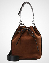 AllSaints RAY BUCKET  Skulderveske coffee brown