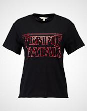 Miss Selfridge Tshirts med print black