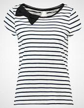 NAF NAF Tshirts med print bleu marine ecru