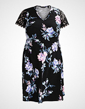 Dorothy Perkins Curve RUCHED SLEEVE PRINT JERSEY DRESS Jerseykjole print