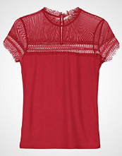 Morgan Tshirts med print red