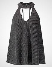 New Look GO METLIC CHOKER STRAPPY CAMI Topper black