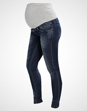 Mamalicious MLMYRA  Jeans Skinny Fit dark blue denim