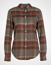 Polo Ralph Lauren BRUSHED PLAID CLASSIC FIT Skjorte rust/moss