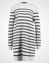 Tom Tailor Denim STRIPES Strikket kjole light grey