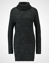 Object OBJNONSIA Strikket kjole dark grey melange