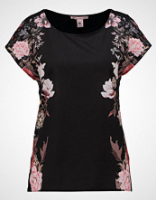 Anna Field Tshirts med print black/ rose