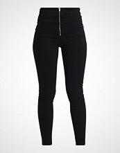 New Look ZIP FRONT CORSET Jeans Skinny Fit black
