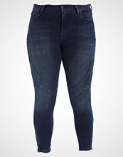 Zizzi CROPPED SALLY Jeans Skinny Fit dark blue denim
