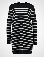 Tom Tailor Denim STRIPES Strikket kjole black/grey