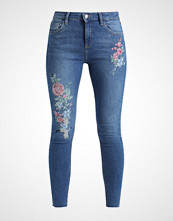 Dorothy Perkins ORIENTAL EMBROIDERED  Jeans Skinny Fit midwash