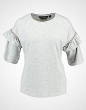 Dorothy Perkins EMBELLISHED FRILL  Tshirts med print grey