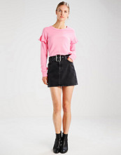Hollister Co. CHASE RUFFLE CREW  Genser pink