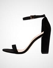 ALDO MYLY Sandaler med høye hæler black