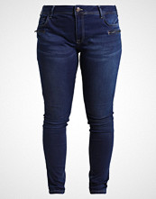 Zizzi SANNA Slim fit jeans dark blue
