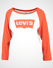 Levi's ROCKER RAGLAN Topper langermet creme white red orange