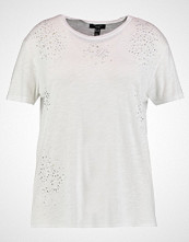 New Look Curves BLING NIBBLED TEE Tshirts white