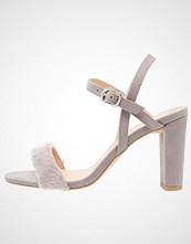 New Look Wide Fit WIDE FIT EX SUZZY Sandaler med høye hæler mid grey