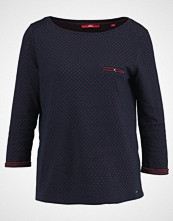 s.Oliver RED LABEL Topper langermet navy / wine red