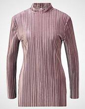 Glamorous Topper langermet mauve pleated velvet