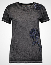 Replay Tshirts med print off black