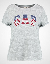 GAP Tshirts med print light grey marle