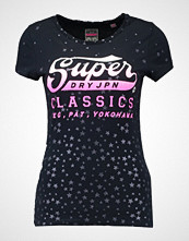 Superdry CLASSIC STAR ENTRY Tshirts med print eclipse navy