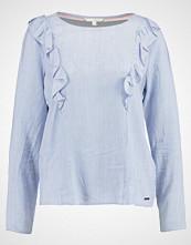 Tom Tailor Denim RUFFLED Bluser greyish mid blue