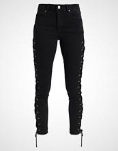 Miss Selfridge SIDE LACE LIZZIE Jeans Skinny Fit black