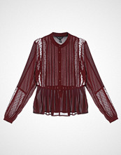 New Look YORYU GRANDAD Bluser burgundy