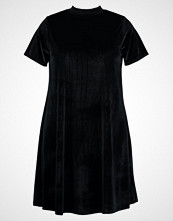 Glamorous Curve SHORT SLEEVES WITH HIGH COLLAR Jerseykjole black